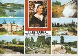 CHANTONNAY (85) Magnifique Carte Multi Vues