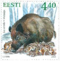 Ref. 100547 * MNH * - ESTONIA. 2002. WILD FAUNA . FAUNA SALVAJE - Estland