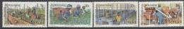 VENDA, 1980 TEA CULTIVATION 4 MNH - Venda