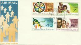 Papua New Guinea 1980 National Census Boroko Postmark, FDC - Papouasie-Nouvelle-Guinée