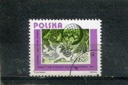 POLAND. 1984. SCOTT 2643. POLISH AVIATION. BALLOON ASCENT, 1784 - 1944-.... République