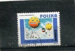 POLAND. 1984. SCOTT 2645. POLISH AVIATION. BALLOON POLONEZ, 1983 - 1944-.... République