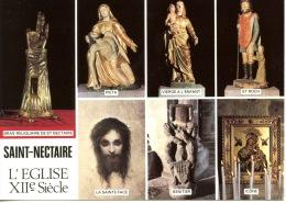 Saint Nectaire église Multivues : Bras Reliquaire Piéta Vierge Enfant Roch Sainte Face Benitier Icone N°302 éd De L´égli - Saint Nectaire