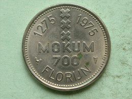 MOKUM 700 FLORIJN / 1275 - 1975 Insigna Amstelredami ( Uncleaned Coin - For Grade, Please See Photo ) !! - Altri