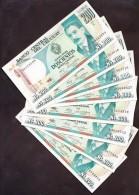 * URUGUAY: 200 Nuevos Pesos (1986) AUNC - Uruguay