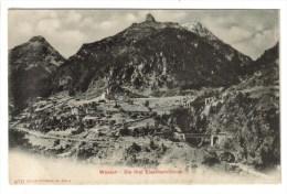 CPA PIONNIERE WASSEN (Suisse-Uri) - Die Drei Eisenbahnlinien - UR Uri