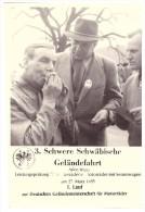 Foto 3. Schwere Geländefahrt In Aalen 1955 , Motorrad , Enduro , Moto Cross , Photo Scheel , Schwäbisch Gmünd !!! - Motorräder