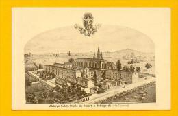 CPA  FRANCE  31  -  BELLEGARDE  -  Abbaye Sainte Marie Du Désert  ( En 1945 ) - Frankrijk