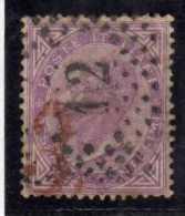 ITALIA REGNO ITALY KINGDOM 1863 1865 VITTORIO EMANUELE II  60 CENT  LONDRA 1966 NUMERALE PUNTI USATO NUMERAL POINTS USED - 1861-78 Vittorio Emanuele II