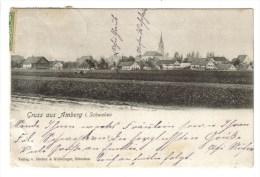 CPA PIONNIERE AMBERG (Allemagne-Bavière) - Gruss Aus.... - Amberg
