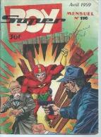 SUPER BOY   N° 116  -  IMPERIA 1959 - Superboy
