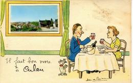 Il Fait Bon Vivre à  CULAN Cher Jean De PREISSAC Restaurant - Preissac