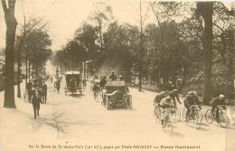 THEMES - SPORTS - CYCLISME - Sur La Route De Bordeaux-Paris Gagné Par Emile Georget - Cyclisme