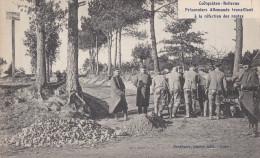56  COETQUIDAN CAMP Militaire SOLDATS GUERRE PRISONNIERS Travail Allemands Refection Des Routes - Guer Coetquidan