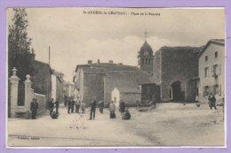 69 - SAINT ANDEOL Le CHATEAU --  Place De La Bascale - France