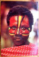 Cpsm VANUATU - Nouvelles Hébrides - Fête Du Toka - Peinture Rituelle - Vanuatu