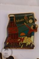 Coca Cola Official Sponsor Olympic Games Atlanta 1996 - Beach VolleyBall - Pin Badge  - #PLS - Coca-Cola
