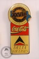 Coca Cola XXVIII Super Bowl - Delta Air Lines - Pin Badge  - #PLS - Coca-Cola