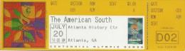Ticket Olympic, Atlanta 1996. - Tickets - Entradas