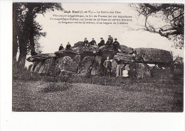 Carte 1915 ESSE / La Roche Aux Fées ,monument Mégalithique, Dolmen Formé De 43 Blocs De Schiste - Frankreich