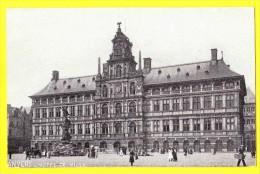 * Antwerpen - Anvers - Antwerp * (EDN VO-DW Anvers) Hotel De Ville, Town Hall, Stadhuis, Grand'Place, Statue Brabo, CPA - Antwerpen