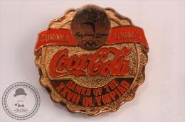 Summer Sydney 2000 Olympic Games - Games Of The XXVII Olympiad 4- Coca Cola Cap - Pin Badge  - #PLS - Juegos Olímpicos