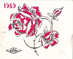 Calendrier 1969 - Memento Des Semis - Graines ECLOR - Calendriers
