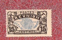 REUNION  --  OCEAN  INDIEN   --  **  15 C. **  POSTE 1907 --   NEUF  SANS TRACE DE CHARNIERE --  TTBE - Réunion (1852-1975)