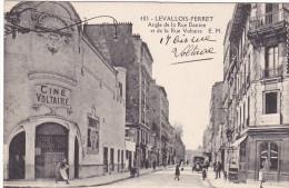 23535 LEVALLOIS PERRET Angle De La Rue Danton Et De La Rue Voltaire -483 EM -cinema Voltaire Cine