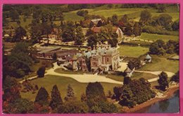 PC9450 Aerial View Of Palace House, Beaulieu, Hampshire - England