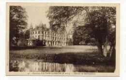 CP , 28 , Environs D´AUTHON-du-PERCHE , Château De Charbonnières - Autres Communes