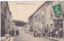 23540 LIGNY-EN-BARROIS - RUE DE LA GARE - Ed Joignon -L. JOIGNON, JOURNAUX  Landeau Petit Parisien - Ligny En Barrois