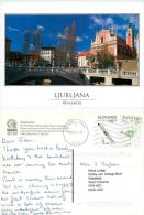 Ljubljana, Slovenia Postcard Posted 2004 Nice Stamp - Slovenië