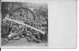 Meuse Argonne éparges Lamorville Vaux Les Palameix 8è Inf.rgt. 33è Res.div.1carte Photo 1914-1918 14-18 Ww1 WwI Wk - War, Military