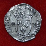 1/4 D'écu - HENRI IV - 1602 - Rennes - 987-1789 Monnaies Royales