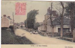 23548 LARDY Vieux Chateau  - Ed Cheramy - Colorisée IPM - 4 Femmes - Lardy