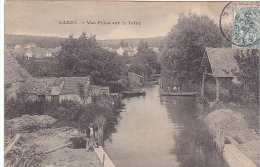 23550 LARDY Vue Prise Sur Juine -col Pierson -barque