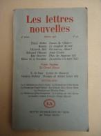 Revue Littéraire - Les Lettres Nouvelles No 34 Jan.1956 - H. Miller, Brassaï - Ed Glissant, S. De Sacy - Livres, BD, Revues