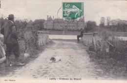 23551 LARDY Chateau Mesnil -ed Cheramy -homme Chien
