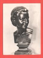 Buste D'Anna Foucart J.B. CARPEAUX Valencienne Musée Des Beaux-Arts C.et Timbre 1er Jour - Musées