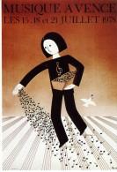 """ILLUSTRATEUR   """" PEYNET  L 1    """" MUSEE A VENCE  1978   CPSM 10 X 15 - Peynet"""