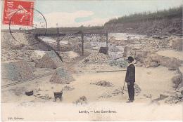 23555 LARDY Les Carrieres - Ed Cheramy - Gres Pierre - Simi Aquarelle Breger -colorisee - Lardy