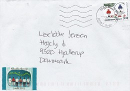 Greenland   Cover Sent To Denmark  # 502 # - Greenland