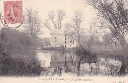 23557 LARDY Moulin GOUJON VU DE DERRIERE - 3 Ed L Des G - - Lardy