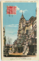 DEP 75 EXPOSITION COLONIALE 1931 TEMPLE D'ANGKOR - Expositions