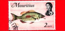 MAURITIUS - 1969 - Vita Marina - Pesci - Fish - Batardé (Lethrinus Harak) - 2 - Maurice (1968-...)