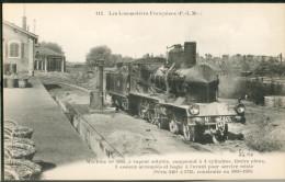 Les Locomotives Françaises  (P.L.M.) -    Machine  N°3665  Pour  Services Mixtes - Trains