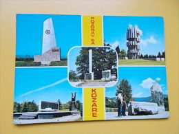 KOZARA-spomenik-monument- Denkmal-monumento- WORLD WAR II - Bosnia And Herzegovina