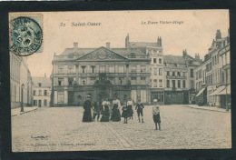 SAINT OMER - La Place Victor Hugo (animation) - Saint Omer