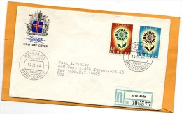 Iceland 1964 FDC - FDC